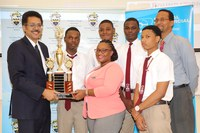 Glenmuir High School Wins Inaugural UTech, Jamaica Mathematics Quiz Competition
