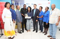 Innovators of Bacteria Killing Device, Xermosel, Win 6th UTech, Jamaica Business Model Competition