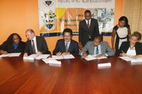 UTech, Jamaica Signs Contract with Ministry of Education and the World Bank for Jamaica Safe Schools Project